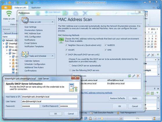 MAC address retrieving from DHCP